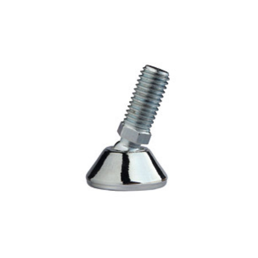 adjustable tilt glides with screw polished chrome